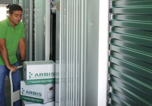 Arbis Box, Alquiler de mini-almacenes